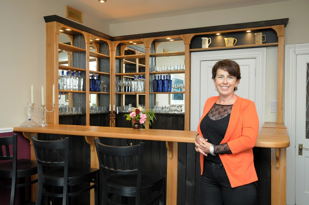 Caroline O'Connor - the talented designer and architect of our beloved bar.