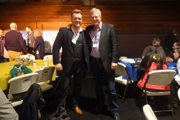 Stephen McPhilemy with Rick Steves