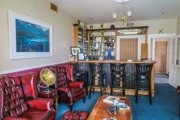 The 'Robert Mitchum Library-Bar' at Milltown House, Dingle
