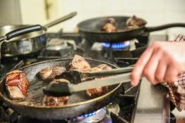 Chef Hire Cooking Venison